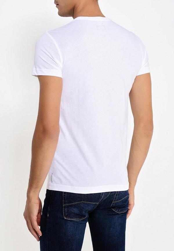 Футболка с надписями Armani Jeans (Армани Джинс) 06h99 ul: изображение 5