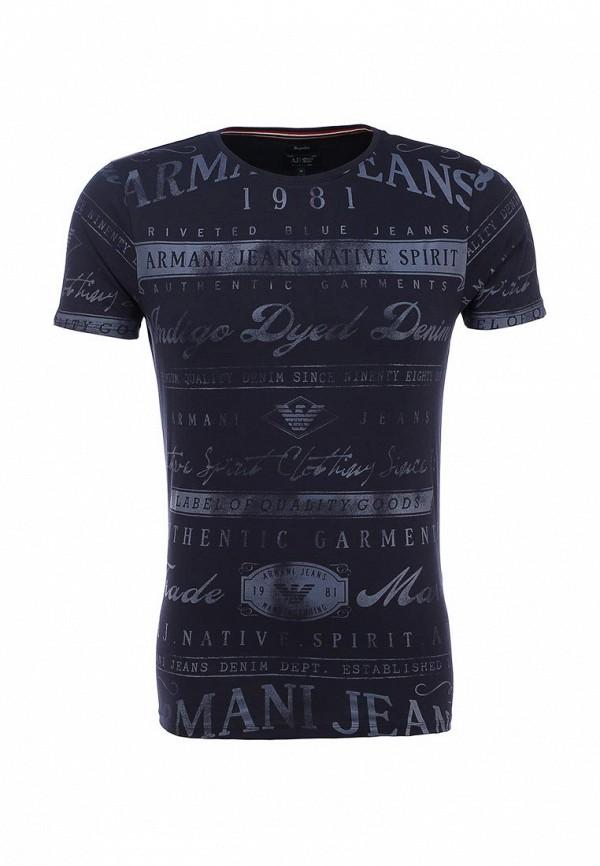 Футболка с надписями Armani Jeans (Армани Джинс) b6h72 by: изображение 1