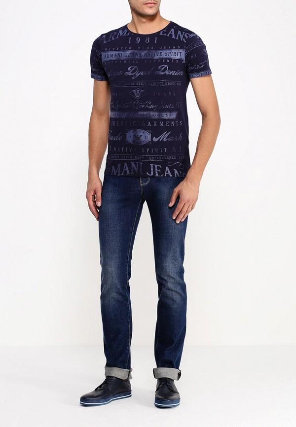 Футболка с надписями Armani Jeans (Армани Джинс) b6h72 by: изображение 2
