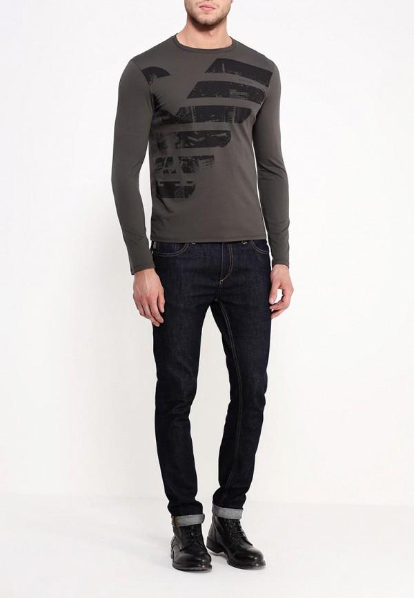Футболка с длинным рукавом Armani Jeans (Армани Джинс) b6h50 ul: изображение 2