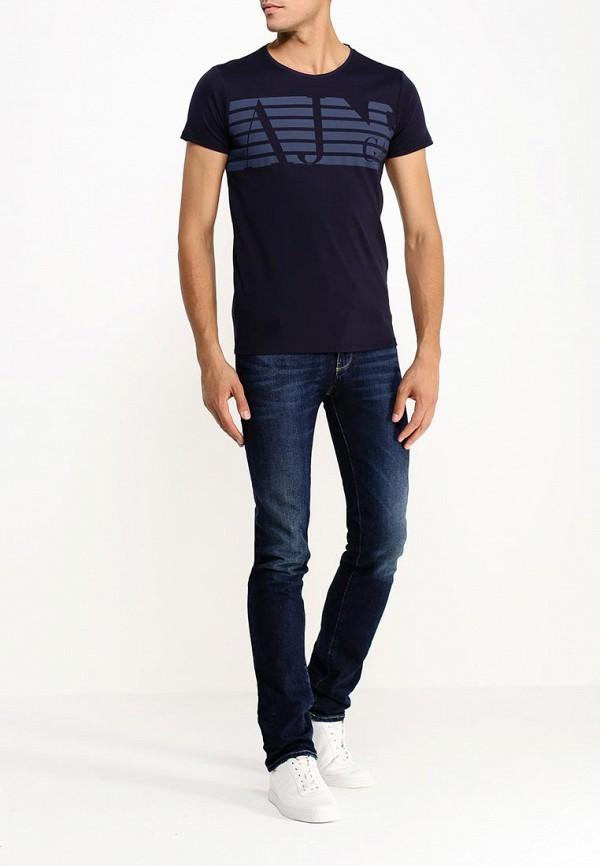 Мужские прямые джинсы Armani Jeans (Армани Джинс) b6j84 8k: изображение 2