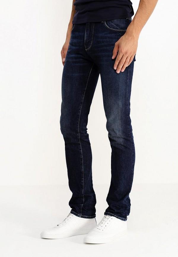 Мужские прямые джинсы Armani Jeans (Армани Джинс) b6j84 8k: изображение 3