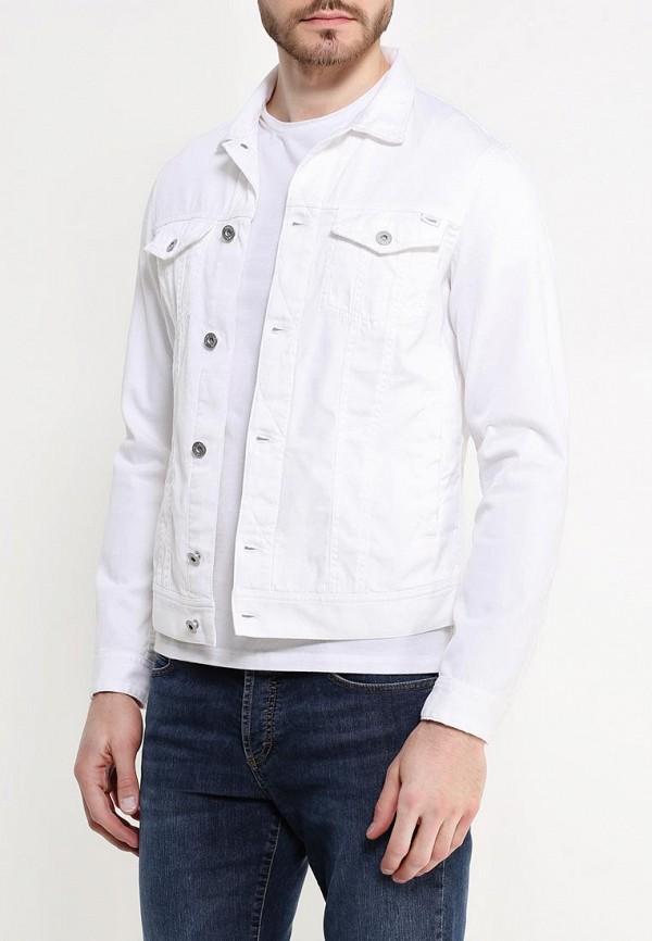 Джинсовая куртка Armani Jeans (Армани Джинс) с6b22 NA: изображение 4