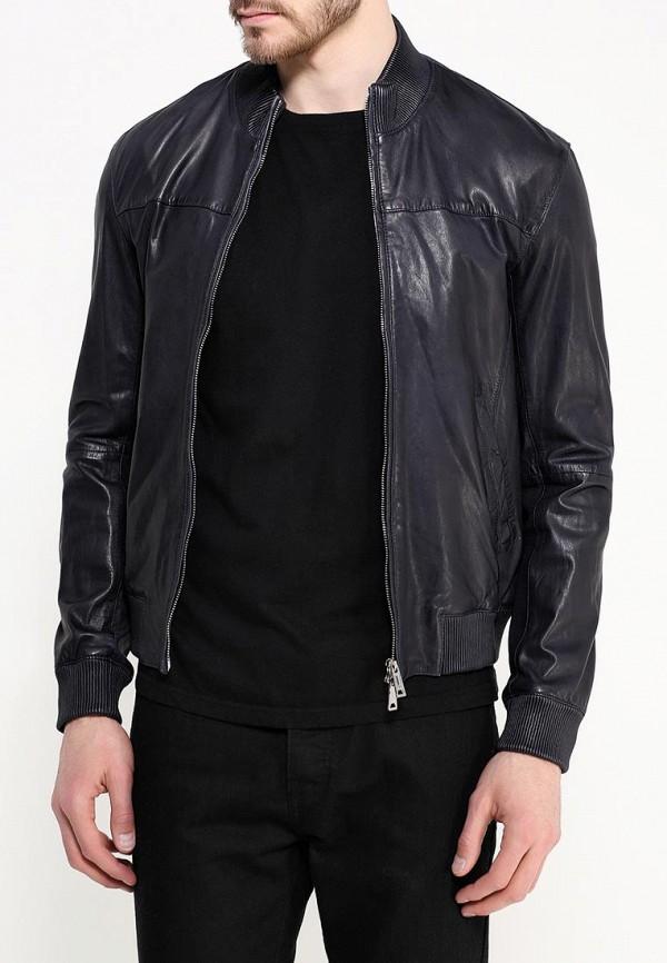 Кожаная куртка Armani Jeans (Армани Джинс) c6b14 FD: изображение 4