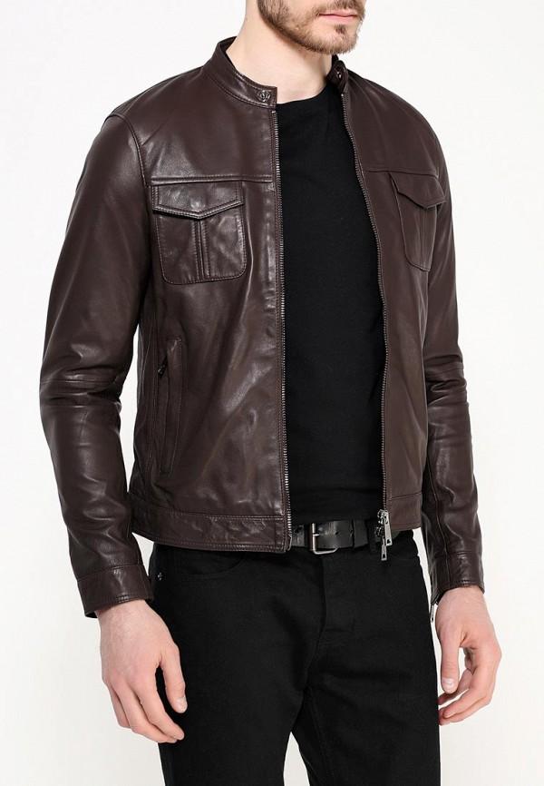 Кожаная куртка Armani Jeans (Армани Джинс) c6b19 JH: изображение 4