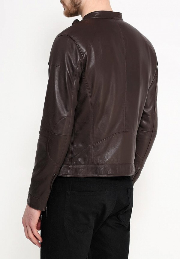 Кожаная куртка Armani Jeans (Армани Джинс) c6b19 JH: изображение 5