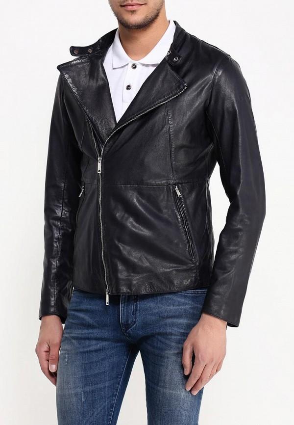 Кожаная куртка Armani Jeans (Армани Джинс) c6b79 FD: изображение 3