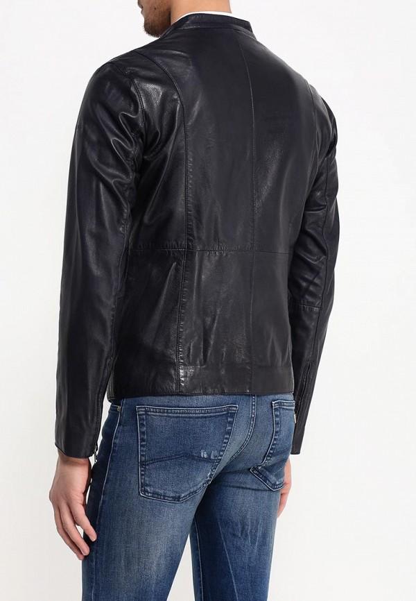 Кожаная куртка Armani Jeans (Армани Джинс) c6b79 FD: изображение 4