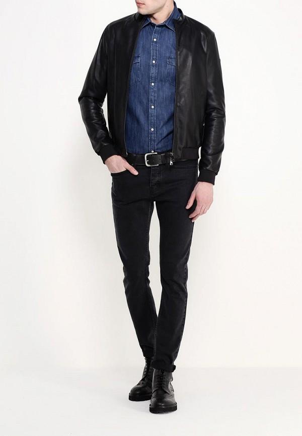 Кожаная куртка Armani Jeans (Армани Джинс) с6b73 JK: изображение 3