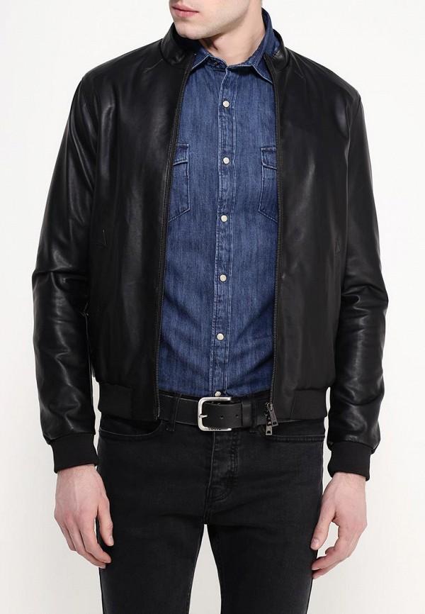 Кожаная куртка Armani Jeans (Армани Джинс) с6b73 JK: изображение 4