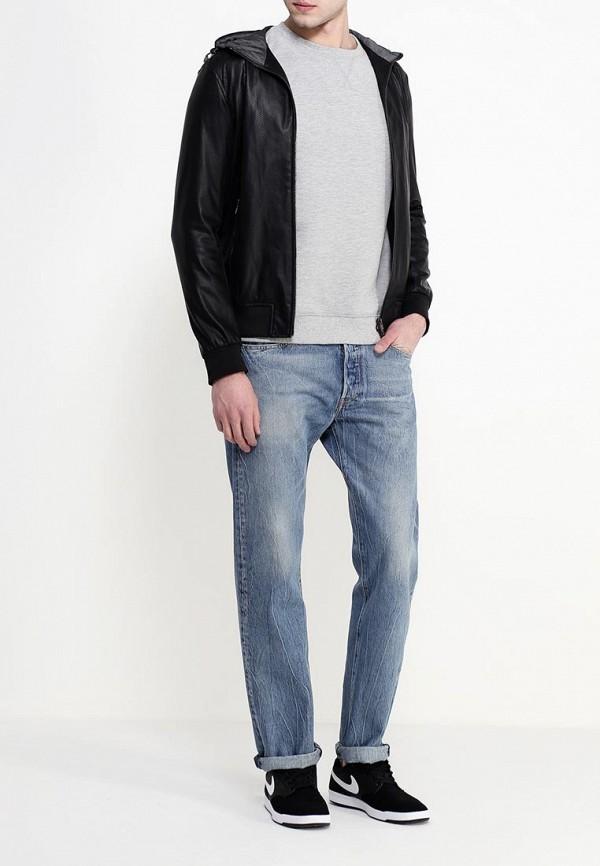 Кожаная куртка Armani Jeans (Армани Джинс) c6b62 ER: изображение 3