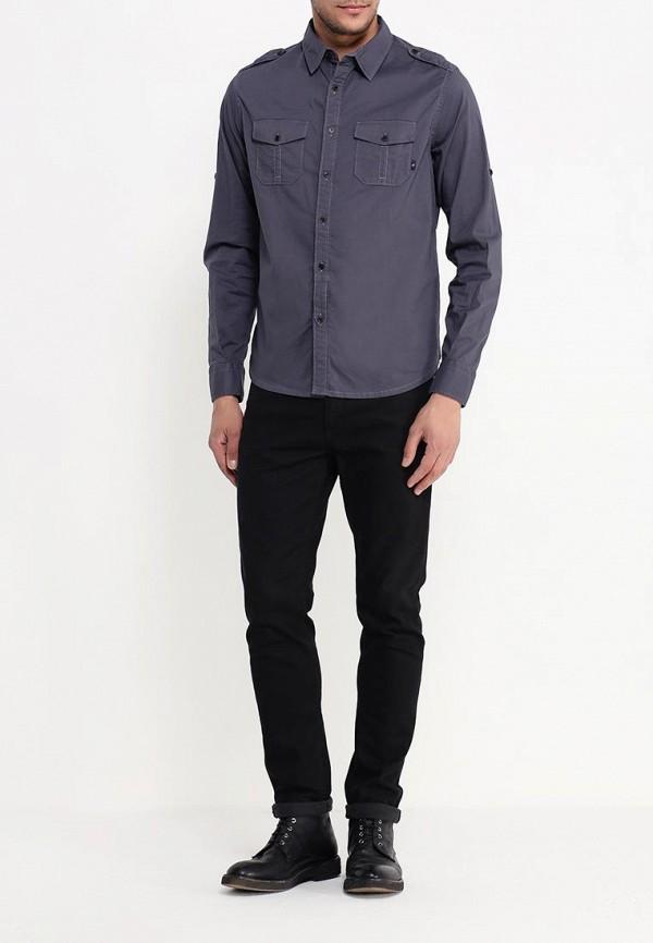 Рубашка с длинным рукавом Armani Jeans (Армани Джинс) C6C36 GY: изображение 2