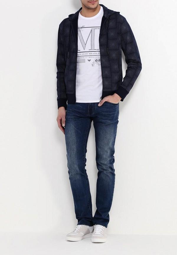 Толстовка Armani Jeans (Армани Джинс) c6m4a QR: изображение 3