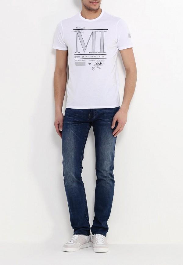 Футболка с коротким рукавом Armani Jeans (Армани Джинс) с6h18 FF: изображение 3