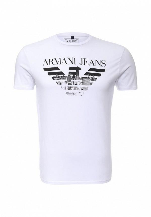 Футболка с коротким рукавом Armani Jeans (Армани Джинс) с6h71 FF: изображение 2