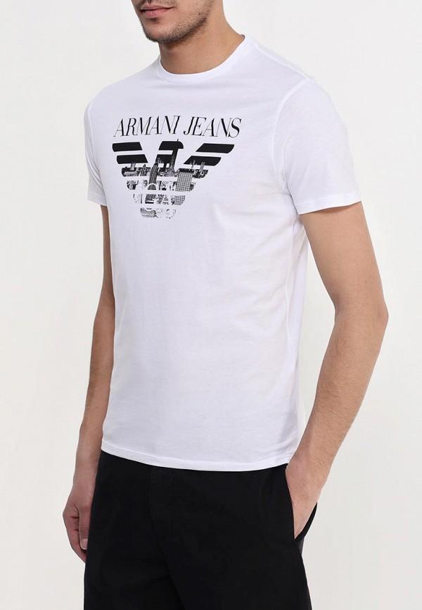 Футболка с коротким рукавом Armani Jeans (Армани Джинс) с6h71 FF: изображение 4
