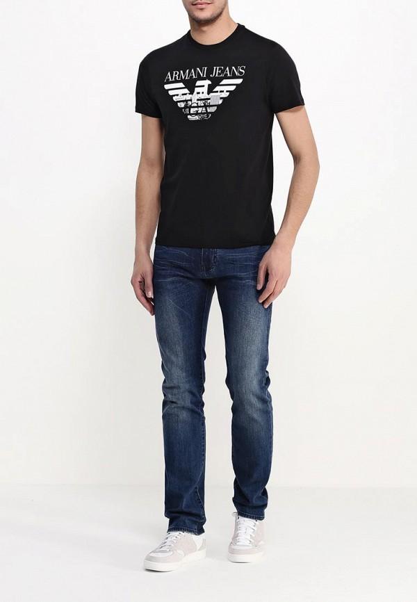 Футболка с надписями Armani Jeans (Армани Джинс) с6h71 FF: изображение 3