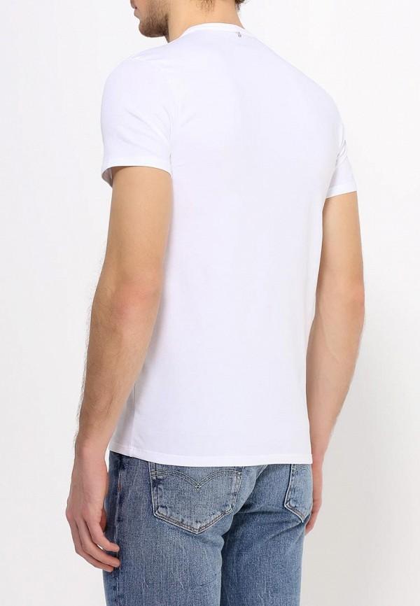 Футболка с надписями Armani Jeans (Армани Джинс) с6h10 NM: изображение 5
