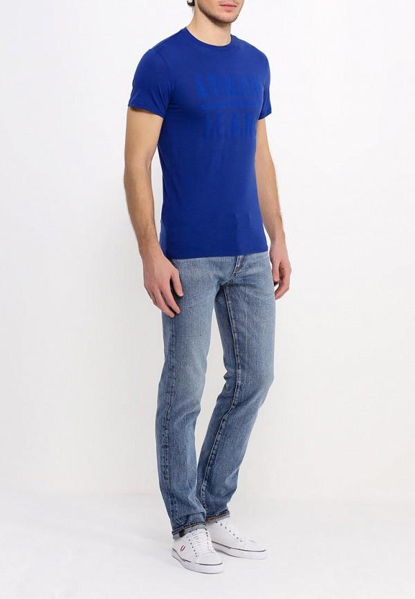 Футболка с надписями Armani Jeans (Армани Джинс) c6h20 LL: изображение 3