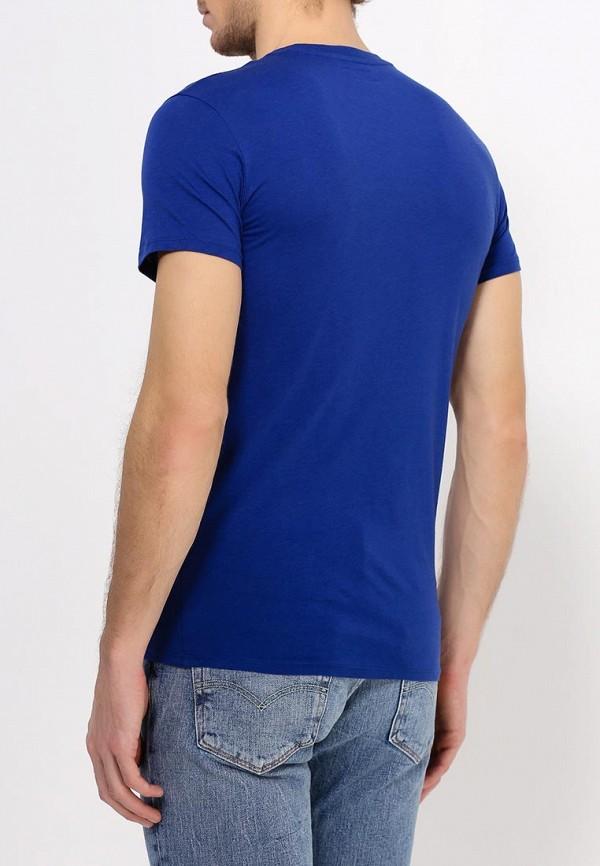 Футболка с надписями Armani Jeans (Армани Джинс) c6h20 LL: изображение 5