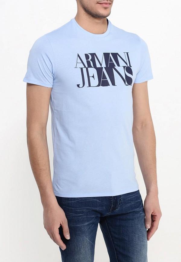 Футболка с надписями Armani Jeans (Армани Джинс) с6h72 FF: изображение 4