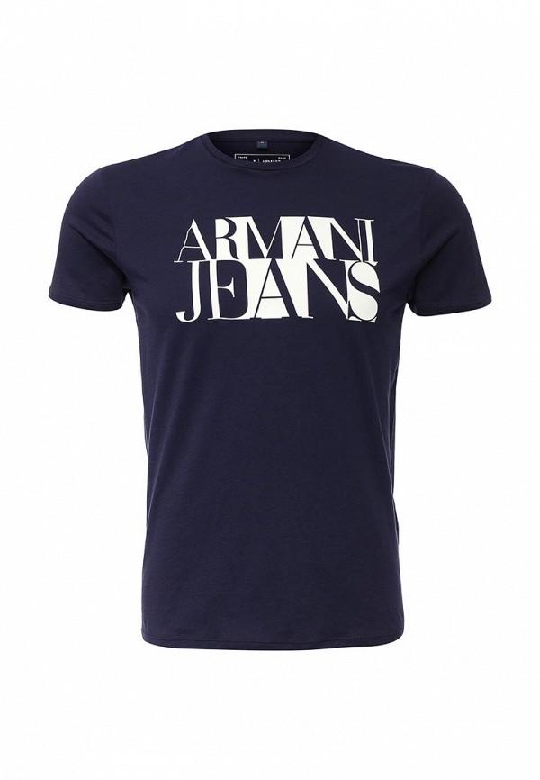 Футболка с коротким рукавом Armani Jeans (Армани Джинс) с6h72 FF: изображение 1