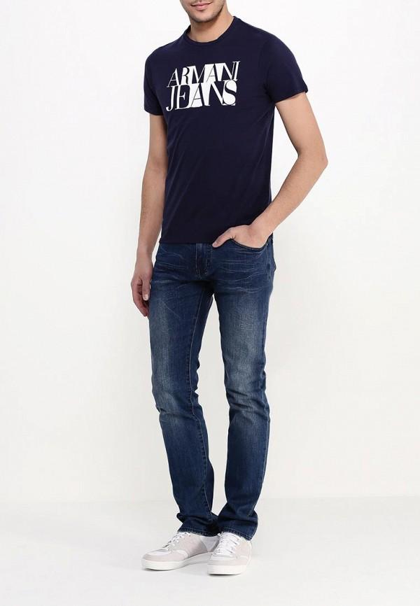 Футболка с коротким рукавом Armani Jeans (Армани Джинс) с6h72 FF: изображение 3