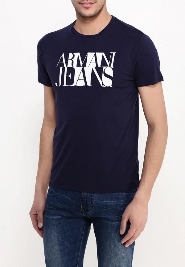 Футболка с коротким рукавом Armani Jeans (Армани Джинс) с6h72 FF: изображение 4