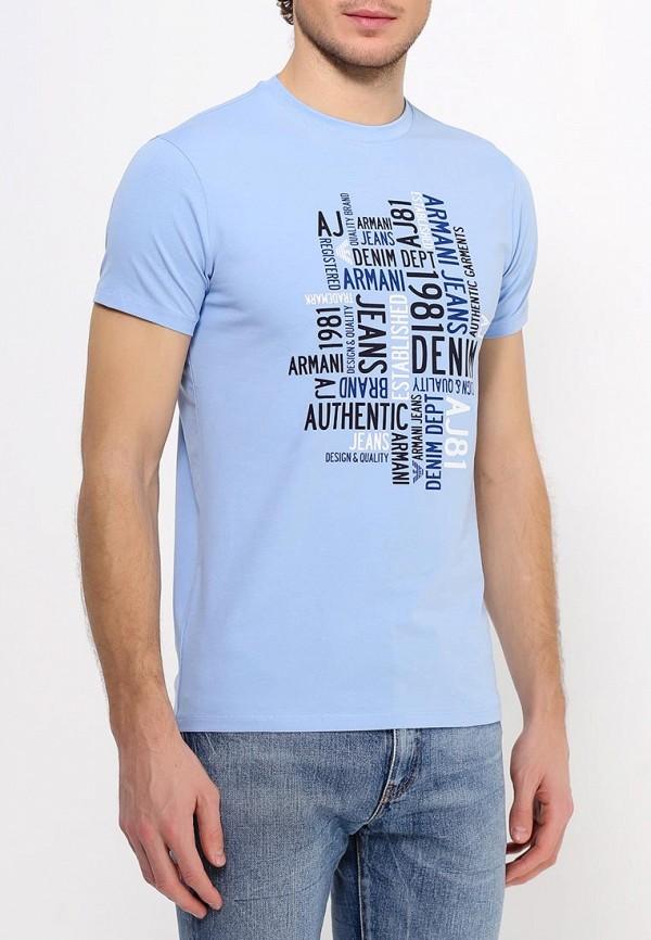 Футболка с надписями Armani Jeans (Армани Джинс) с6h14 DA: изображение 4