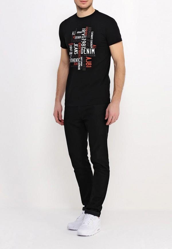 Футболка с надписями Armani Jeans (Армани Джинс) с6h14 DA: изображение 3