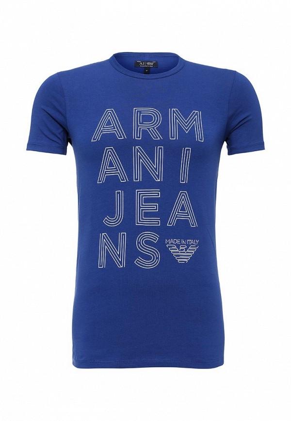 Футболка с надписями Armani Jeans (Армани Джинс) с6h19 NM: изображение 2