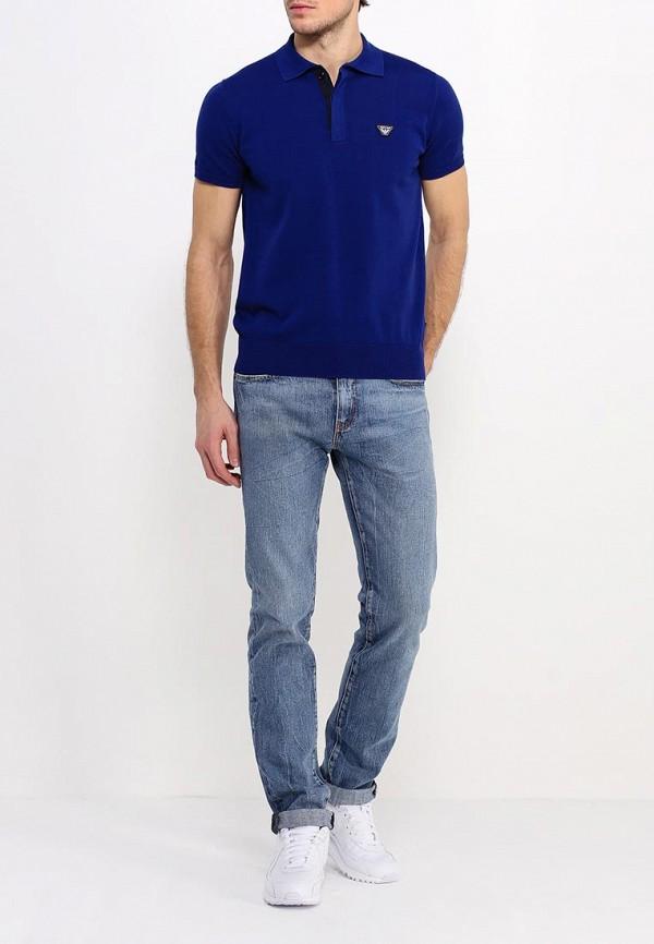Мужские поло Armani Jeans (Армани Джинс) с6w18 VK: изображение 3