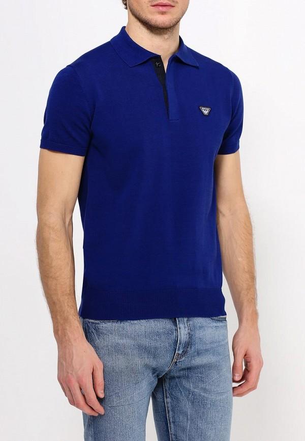 Мужские поло Armani Jeans (Армани Джинс) с6w18 VK: изображение 4
