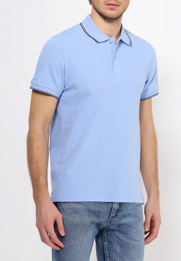 Мужские поло Armani Jeans (Армани Джинс) 06m2b BT: изображение 4