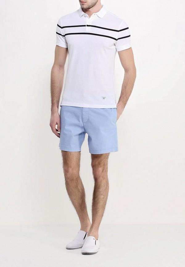 Мужские поло Armani Jeans (Армани Джинс) с6m21 GR: изображение 3