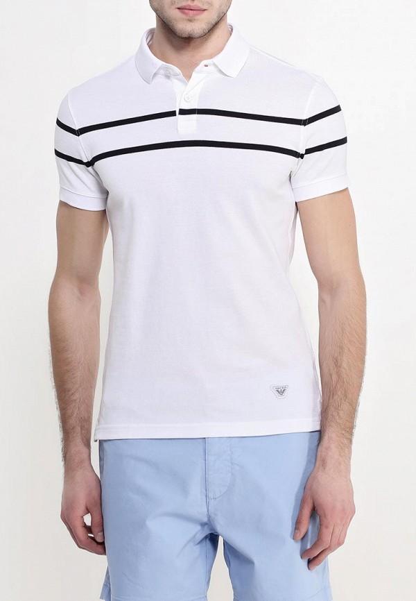 Мужские поло Armani Jeans (Армани Джинс) с6m21 GR: изображение 4