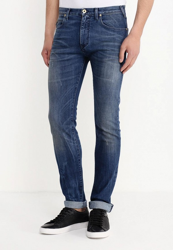 Зауженные джинсы Armani Jeans (Армани Джинс) C6J84 3K: изображение 3