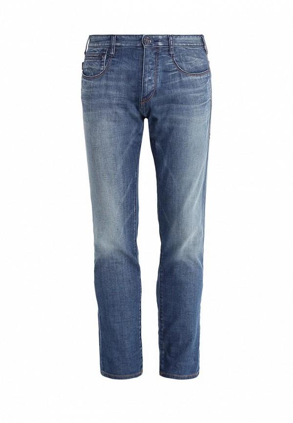 Мужские прямые джинсы Armani Jeans (Армани Джинс) c6j53 6K