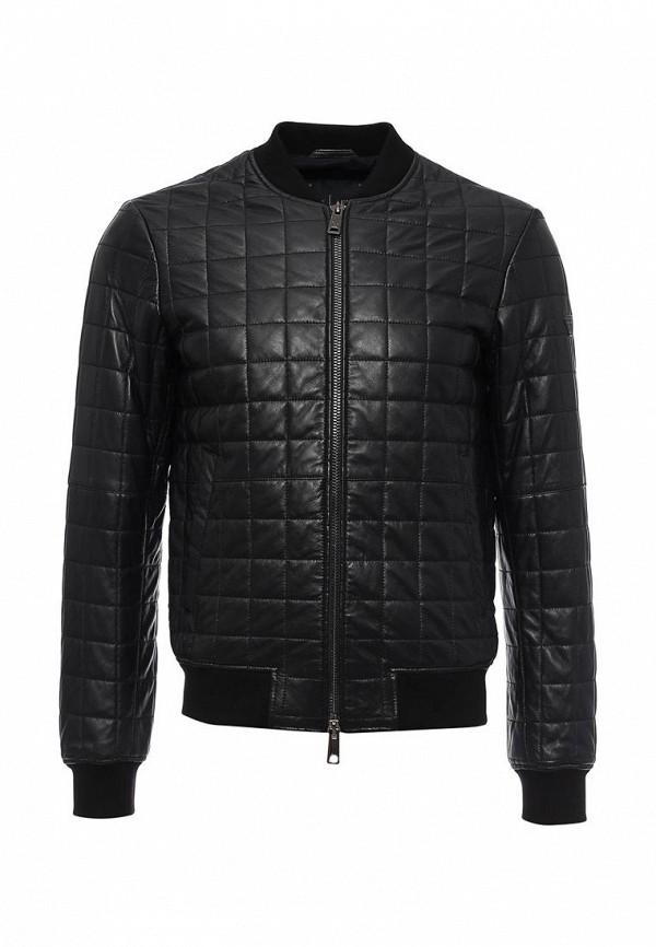 Кожаная куртка Armani Jeans (Армани Джинс) 6x6b58 6LNAZ