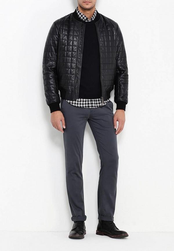 Кожаная куртка Armani Jeans (Армани Джинс) 6x6b58 6LNAZ: изображение 2
