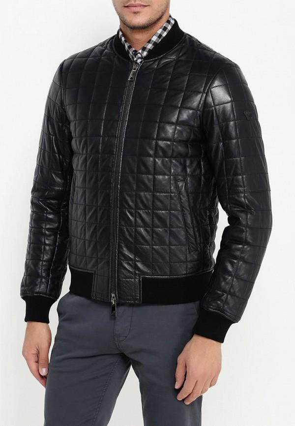 Кожаная куртка Armani Jeans (Армани Джинс) 6x6b58 6LNAZ: изображение 3