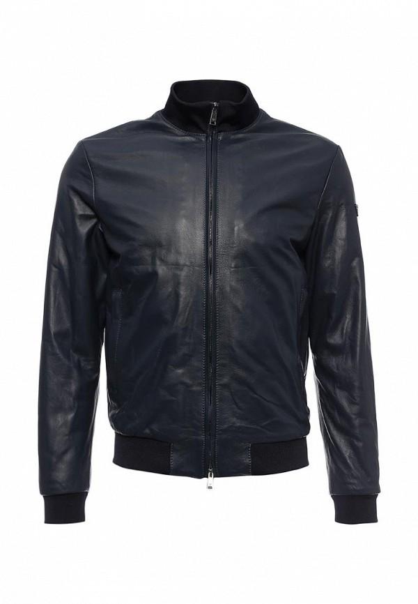 Кожаная куртка Armani Jeans (Армани Джинс) 6x6b02 6L00Z: изображение 1