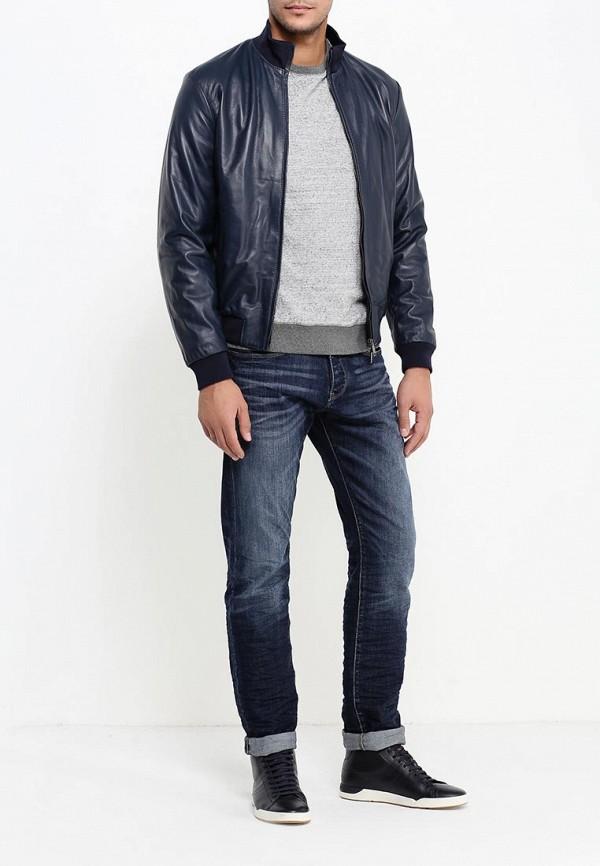 Кожаная куртка Armani Jeans (Армани Джинс) 6x6b02 6L00Z: изображение 2