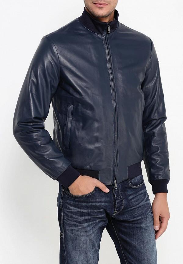 Кожаная куртка Armani Jeans (Армани Джинс) 6x6b02 6L00Z: изображение 3