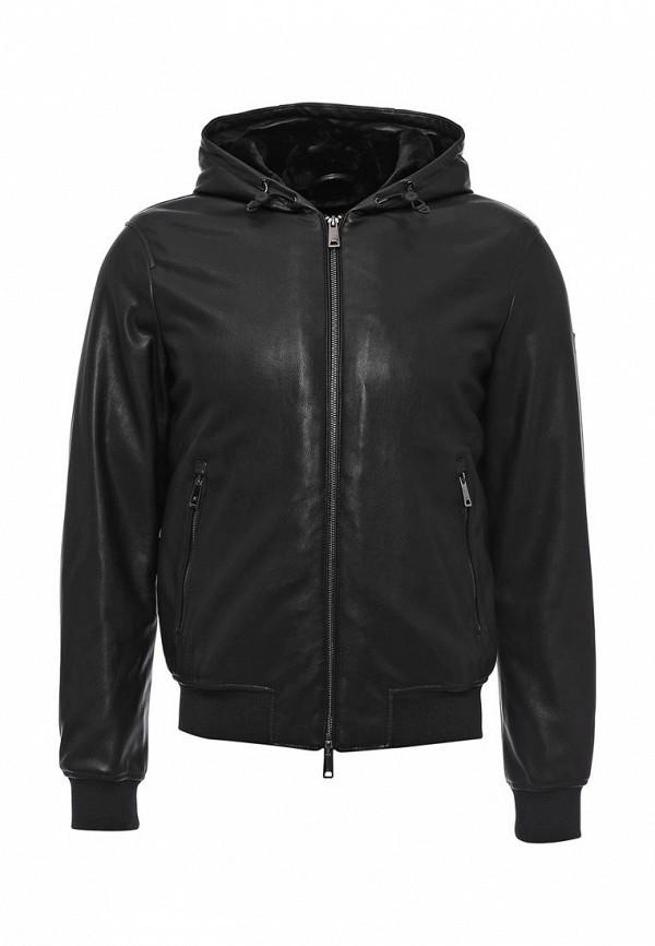 Кожаная куртка Armani Jeans (Армани Джинс) 6x6b65 6EMCZ