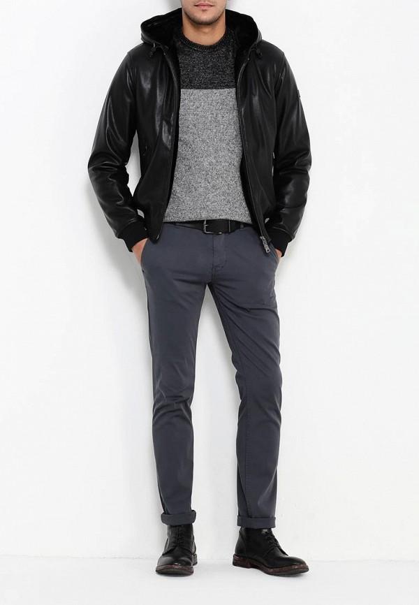 Кожаная куртка Armani Jeans (Армани Джинс) 6x6b65 6EMCZ: изображение 2