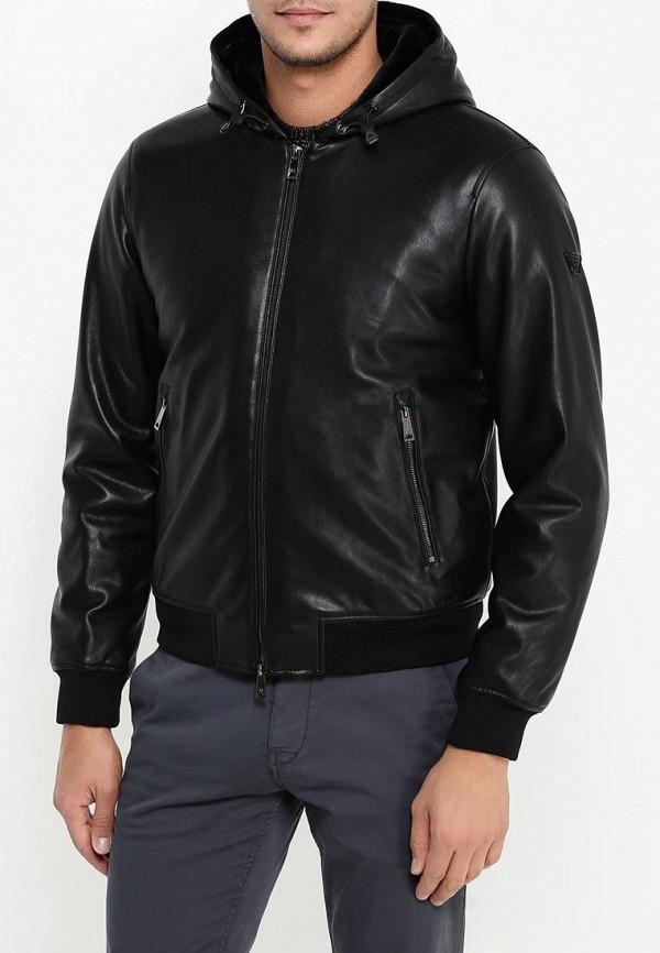 Кожаная куртка Armani Jeans (Армани Джинс) 6x6b65 6EMCZ: изображение 3