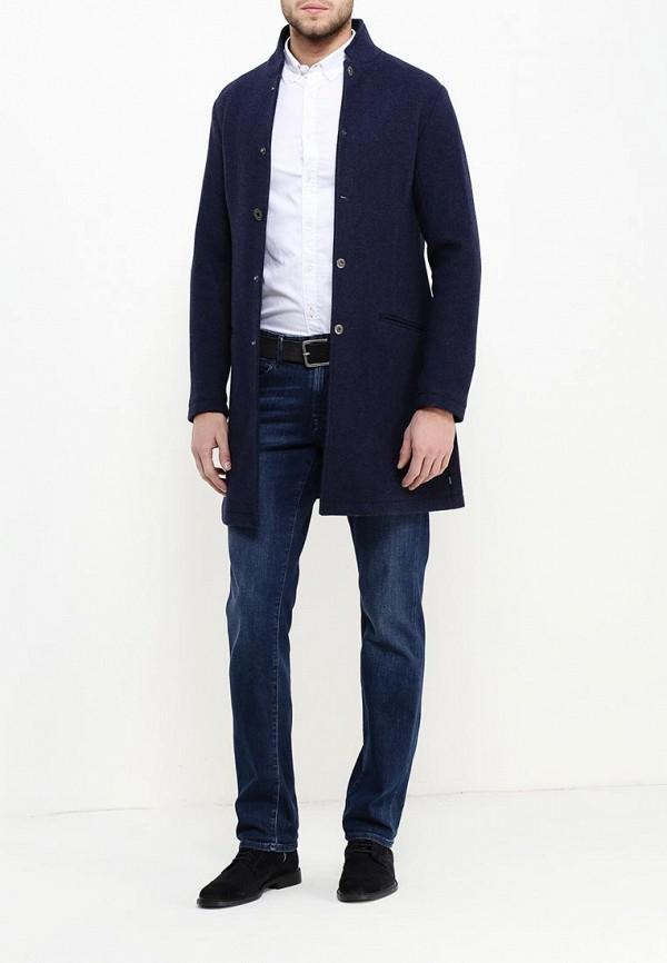 edb89977ee17 Мужское пальто Armani Jeans (Армани Джинс) 6x6l10 6NAAZ (Цвет  Синий ...