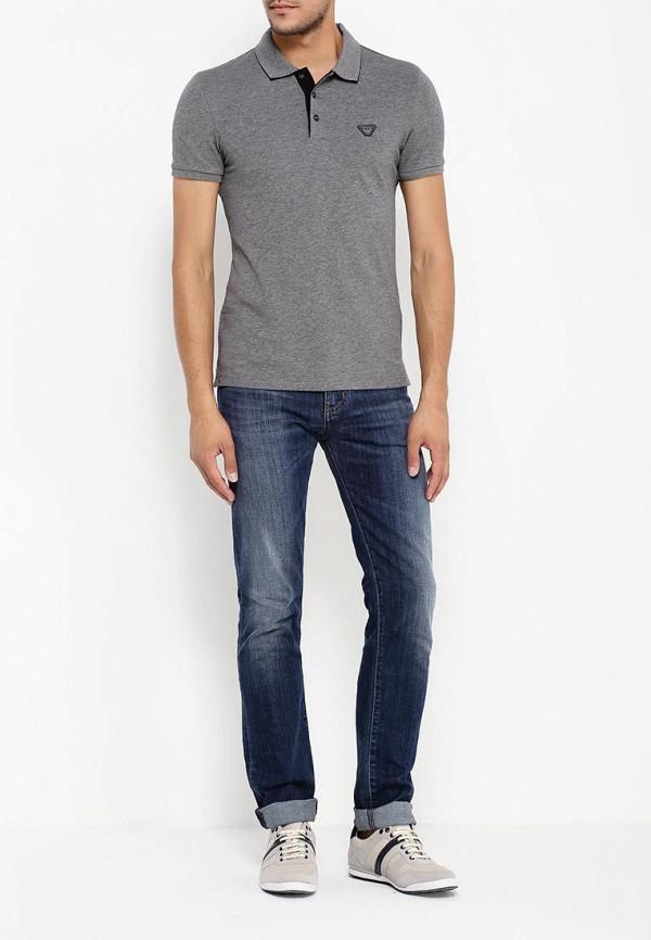 Мужские поло Armani Jeans (Армани Джинс) 6x6f14 6JPTZ: изображение 3