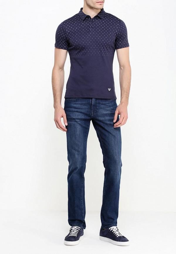 Мужские поло Armani Jeans (Армани Джинс) 6x6f17 6JPRZ: изображение 3